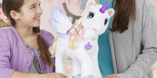 FurReal StarLily My Magical Interactive Plush Unicorn Just $69.99 Shipped (Regularly $100) + More