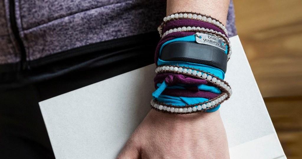 Garmin Vivosmart on wrist