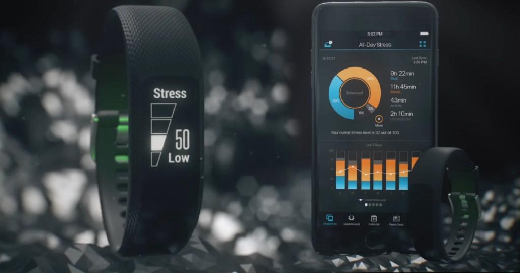 Garmin Vivosmart with app