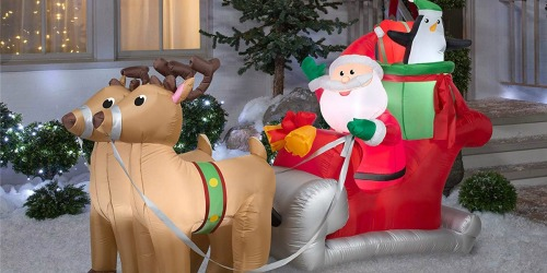 Up to 50% Off Holiday Inflatables at Amazon | Star Wars, The Grinch & More