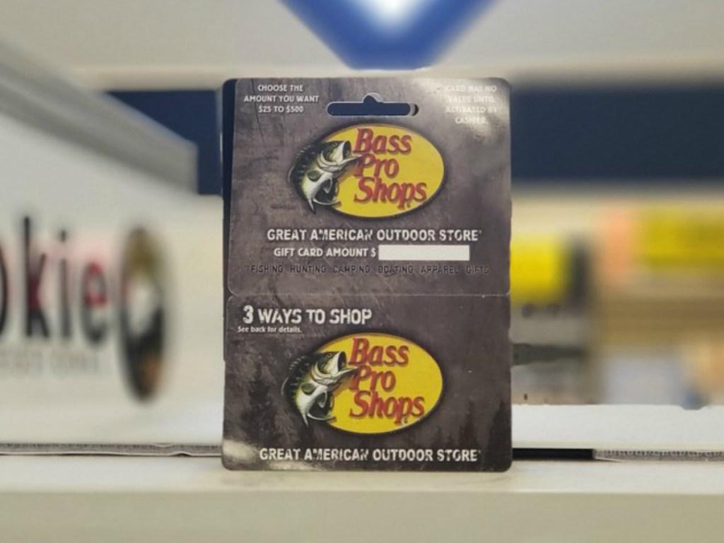 Bass Pro Shops Gift Card