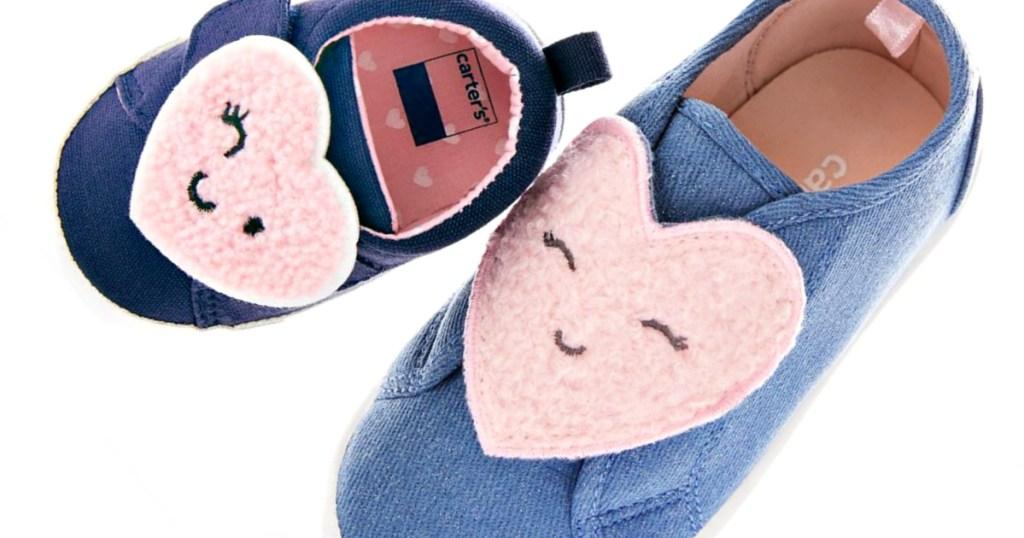 Carter's girls blue Deanna Sneakers