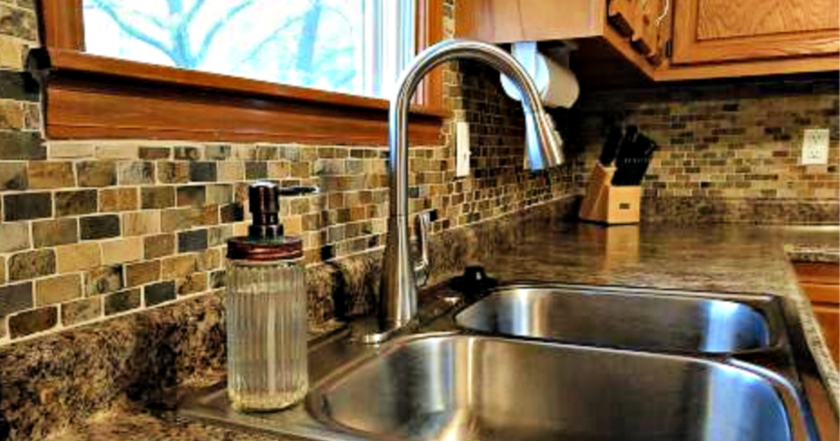 Glacier Bay Pull-Down Kitchen Faucet Only $49 Shipped at ...