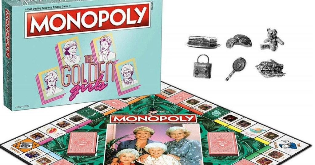 Golden Girls Monopoly game