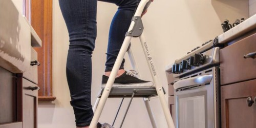Gorilla Ladders Step Stool Only $19.88 on HomeDepot.com (Regularly $33)