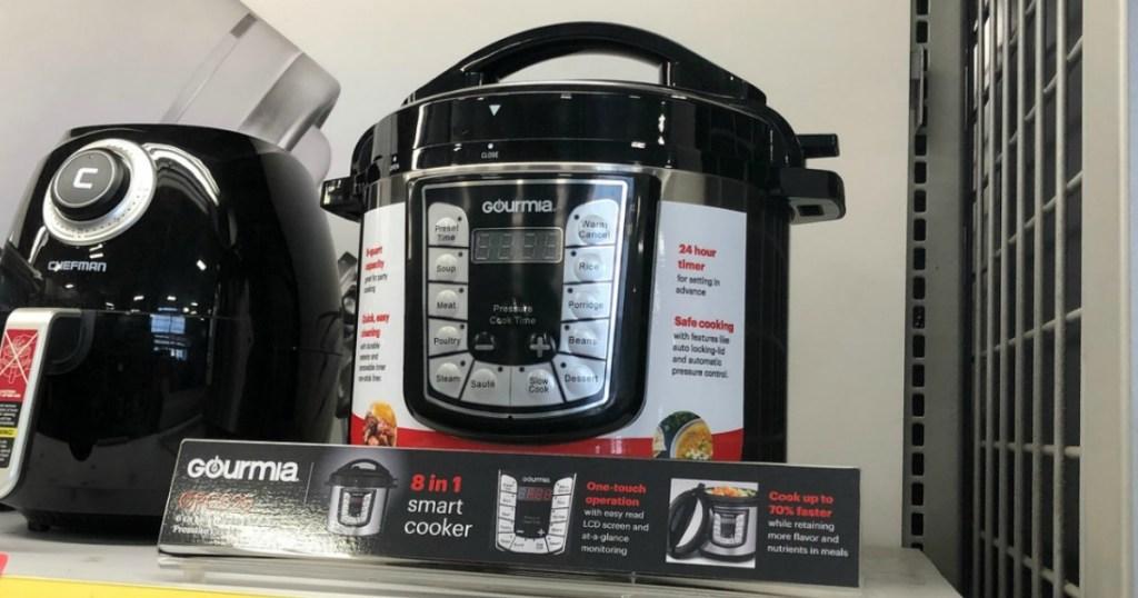 Gourmia brand 6-quart pressure cooker