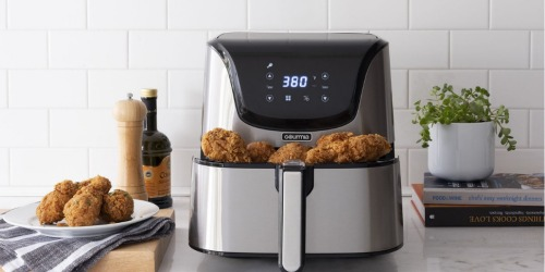 Gourmia 8-Quart Digital Air Fryer Only $49 Shipped on Walmart.com (Black Friday Price!)