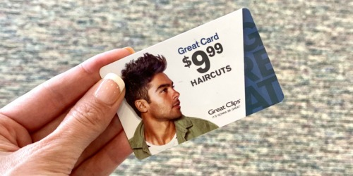 Prepaid Haircut Cards Just $9.99 at Great Clips | Stocking Stuffer Idea
