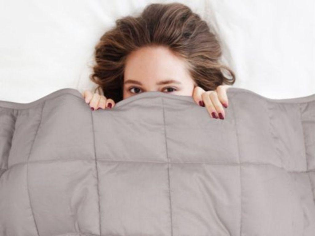 Grey NEX Weighted Blanket