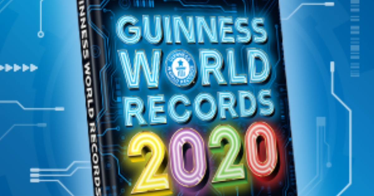 Guiness World Record Book 2020