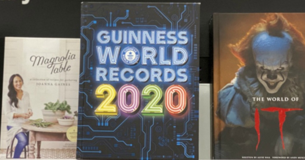 Guinness World Records 2020 List.Guinness World Records 2020 Hardcover Book Only 7 49