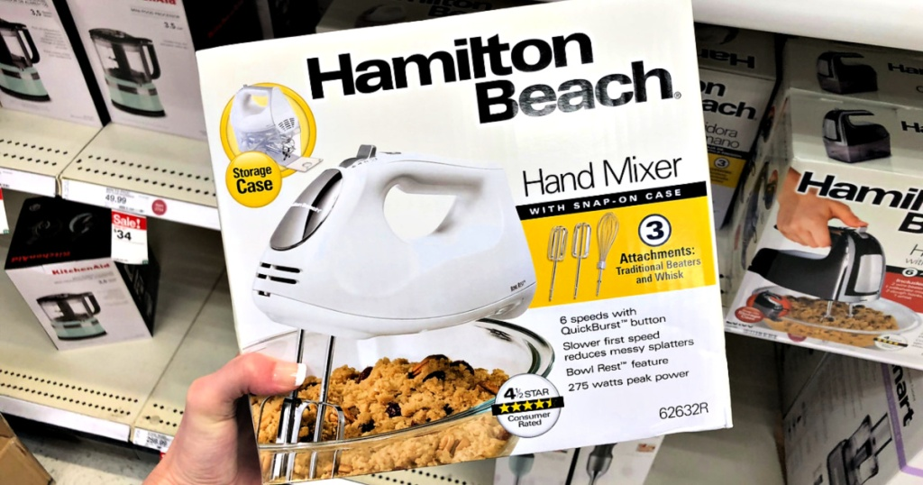 Hamilton Beach 6-Speed Hand Mixer with Case