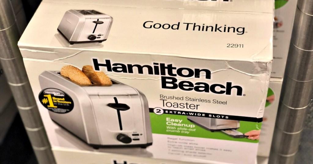 Hamilton Beach Stainless Steel 2-Slice Toaster