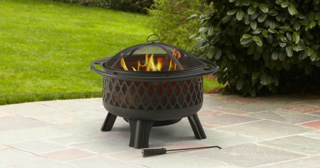50% Off Hampton Bay Fire Pit + Free Shipping at Home Depot ...