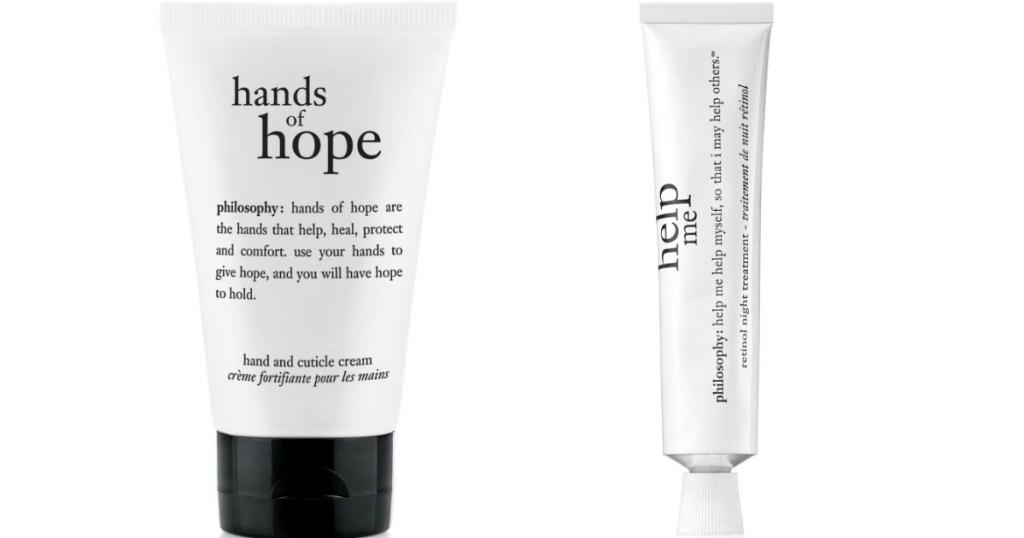 Hands of Hope and Help Me Retinol Cream