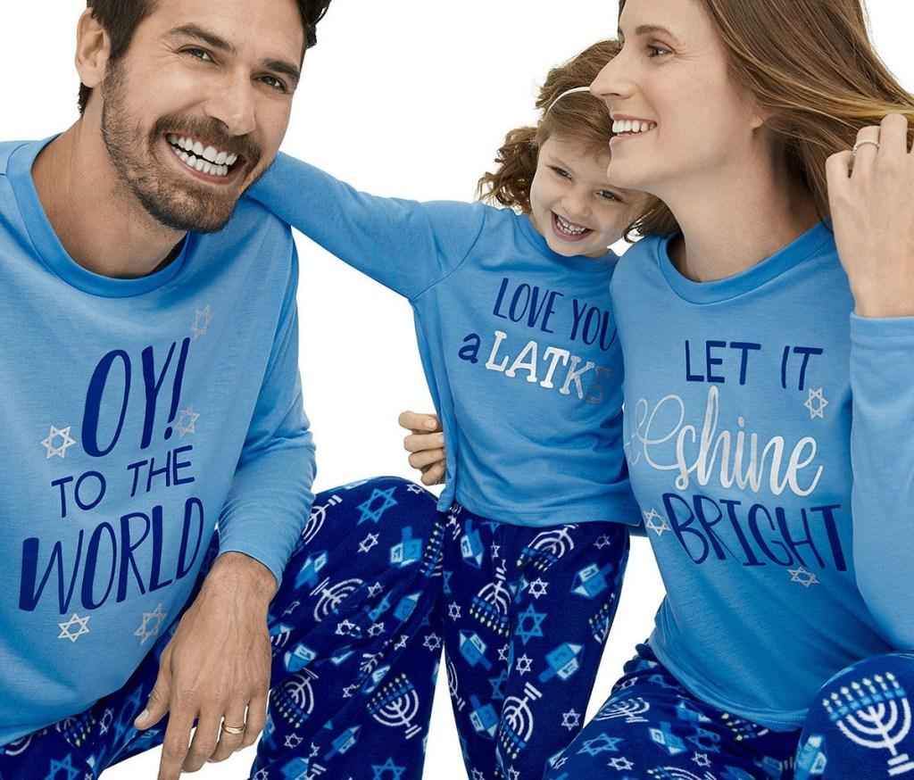 Hanukkah Family Pajamas