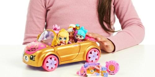 Shopkins Royal Convertible + Doll Set Only $9.45 (Regularly $20)