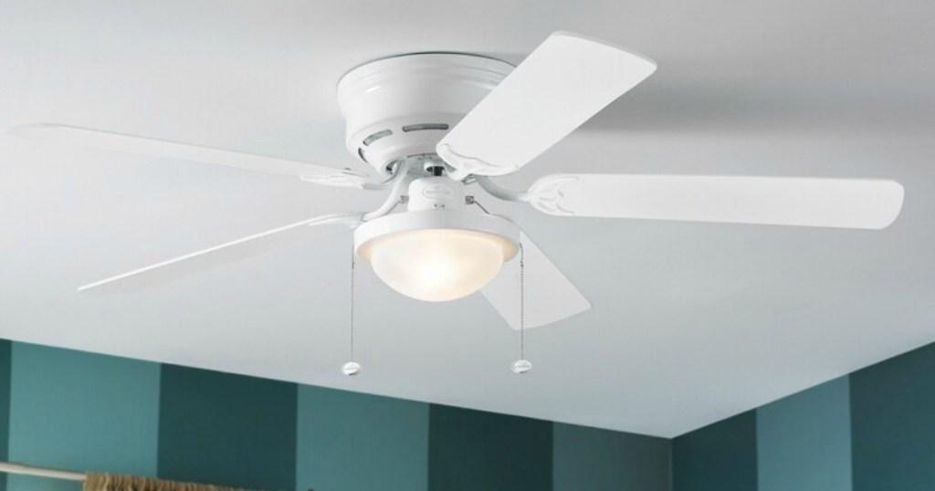 Harbor Breeze Ceiling fan installed