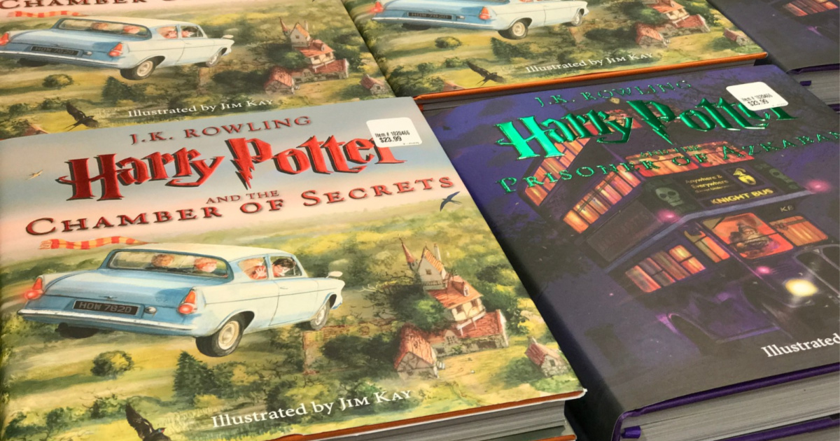 harry potter illustrated books