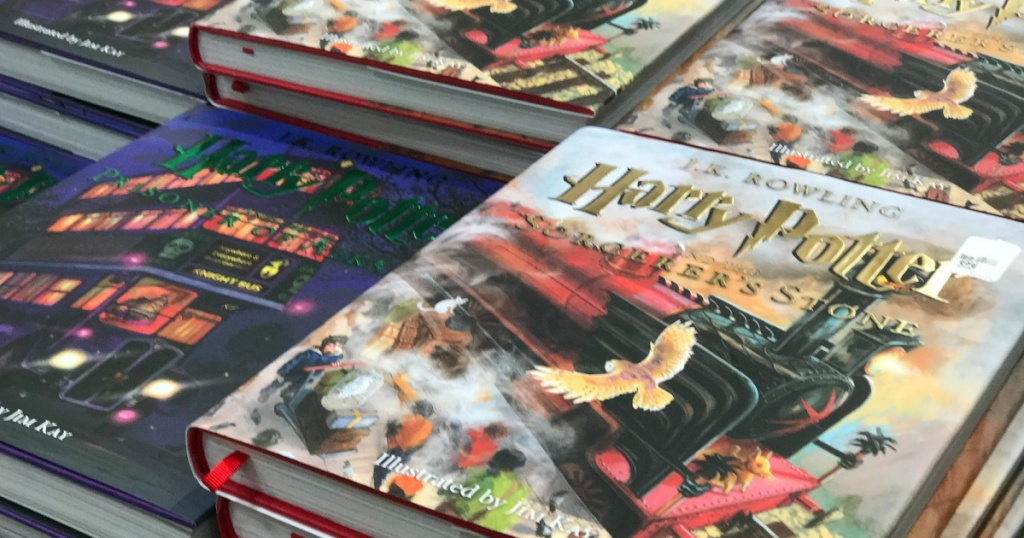 harry potter illustrated edition books