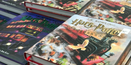 Harry Potter and the Sorcerer's Stone: The Illustrated Edition Only $13.97 (Regularly $40)