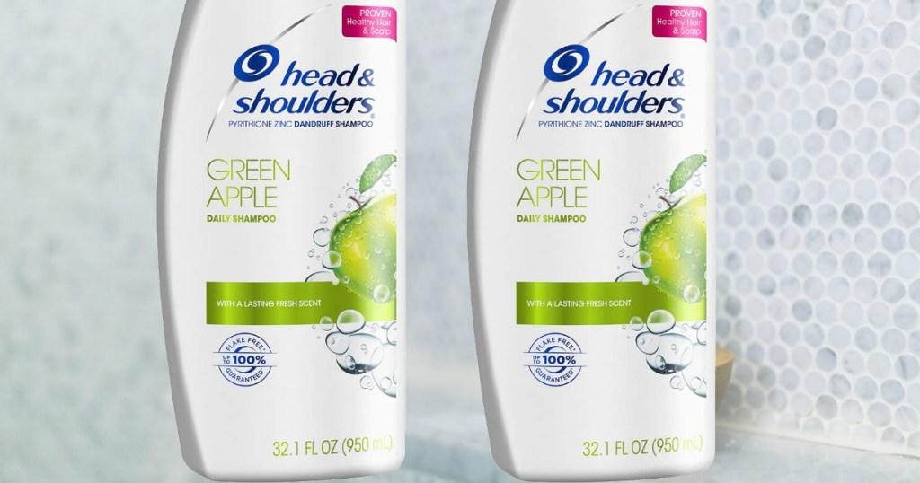 Head & Shoulders Green Apple big shampoo two pack