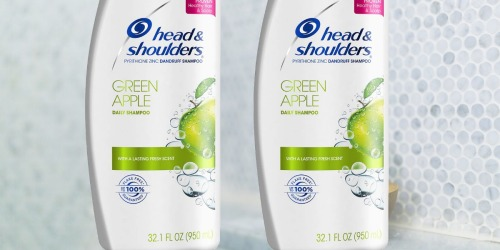 Two HUGE Head & Shoulders Shampoo Bottles Only $13.29 Shipped on Amazon (Just $6.65 Each)