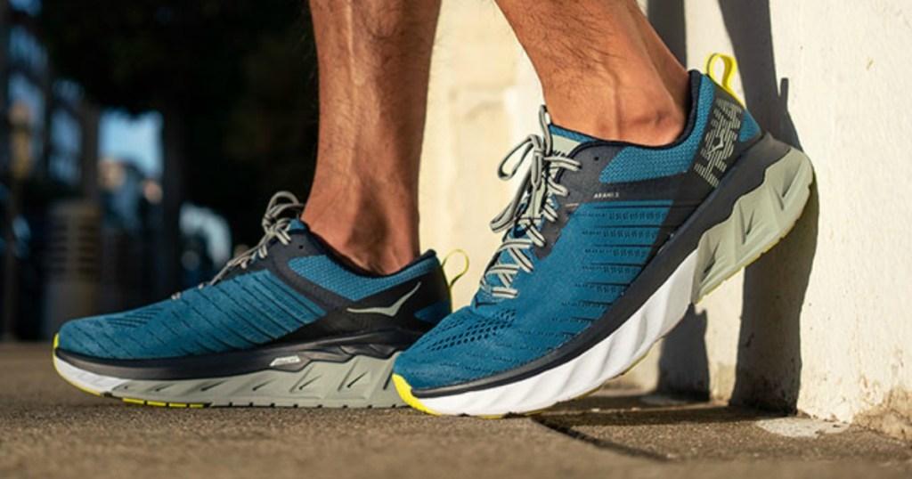 Hoka Men's Running Shoes in Blue