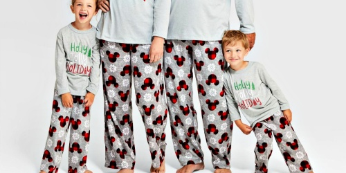 Fleece PJ Pants for the Family as Low as $3.50 at Target | Cute Christmas Eve Gift