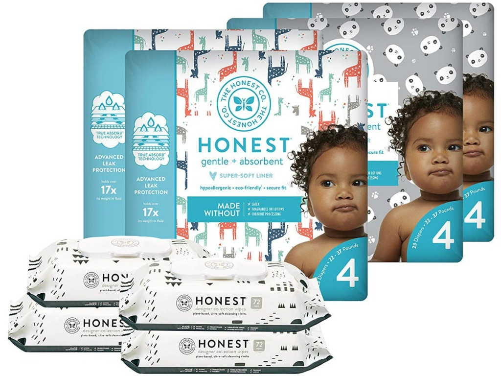 The Honest Company Diapers & Wipes Club Box Amazon