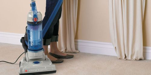 Hoover Sprint QuickVac Bagless Upright Vacuum Cleaner Only $37.19 Shipped at Amazon