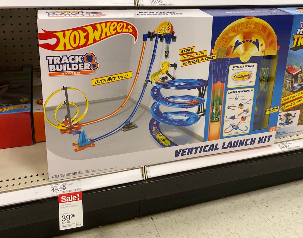 Hot Wheels Vertical Launch Kit
