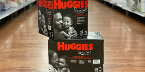 New $3/1 Huggies Special Delivery Diapers Coupon