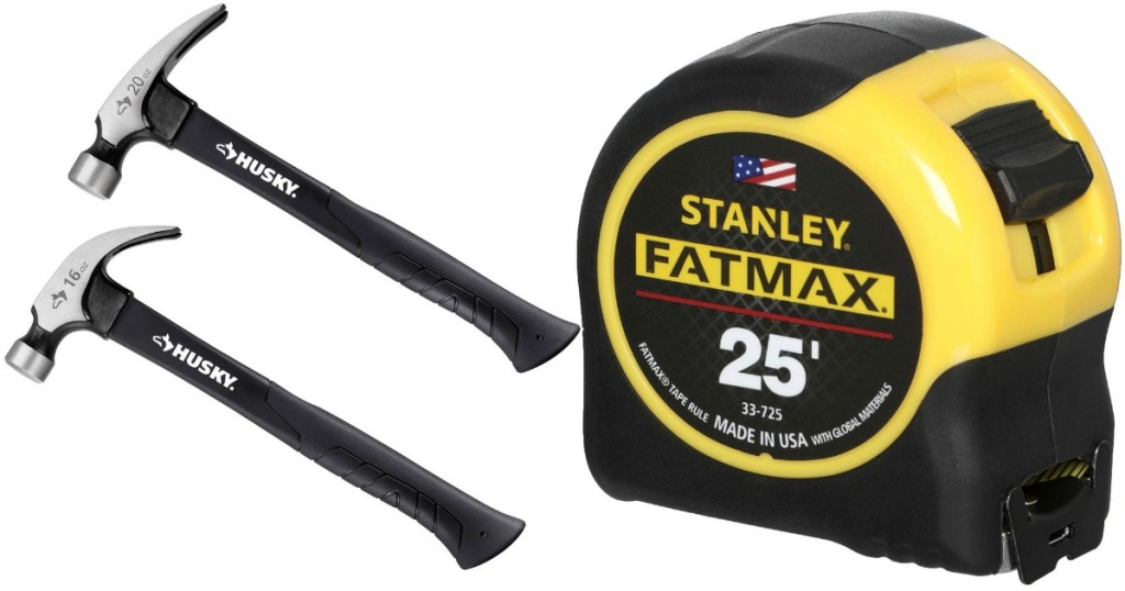 Husky Hammers and Stanley Fatmax