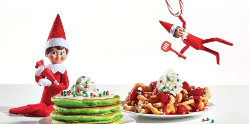 IHOP is Selling Elf on the Shelf Pancakes & Funnel Cake (And Kids Can Eat Free)