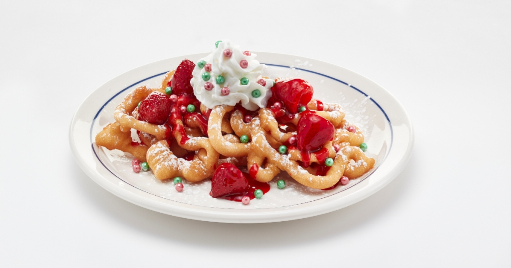 Oh What Funnel Cakes from IHOP