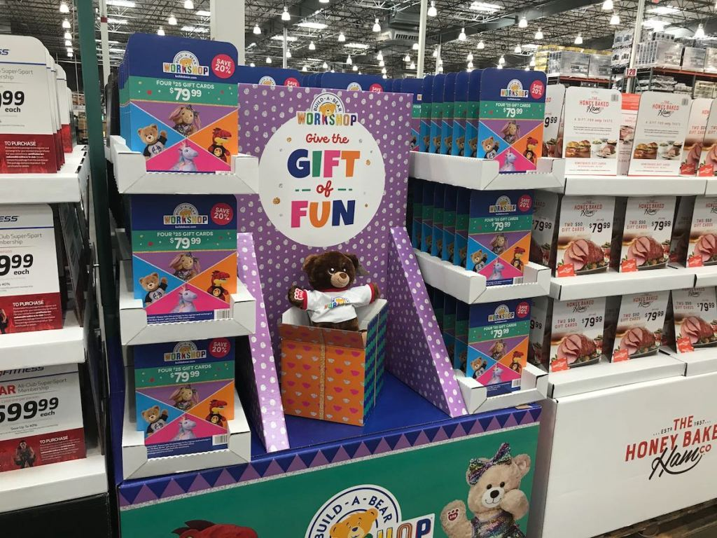 Costco BuildaBear Gift Card