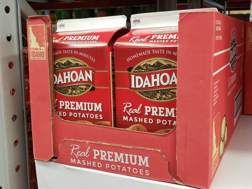 Idahoan Potatos