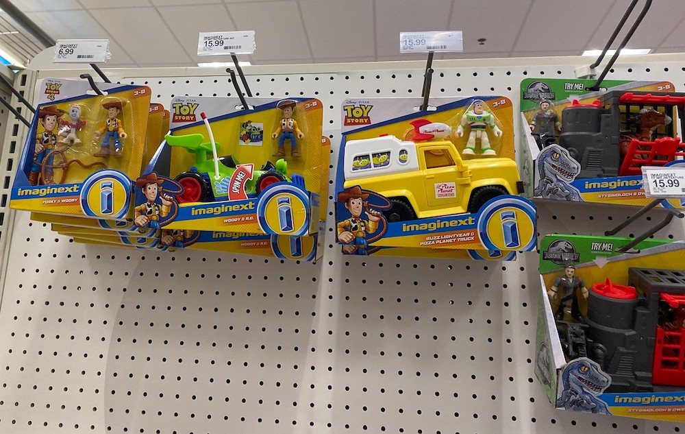 Imaginext Toy Story toys at Target