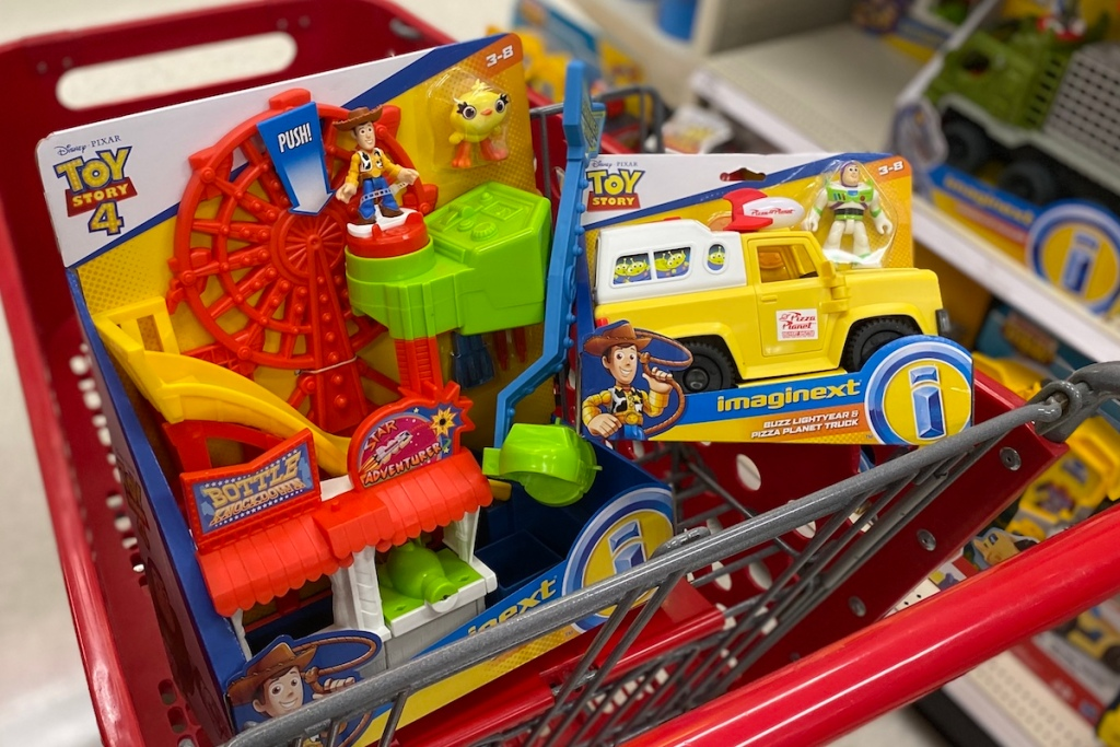 Imaginext Toys in Target cart