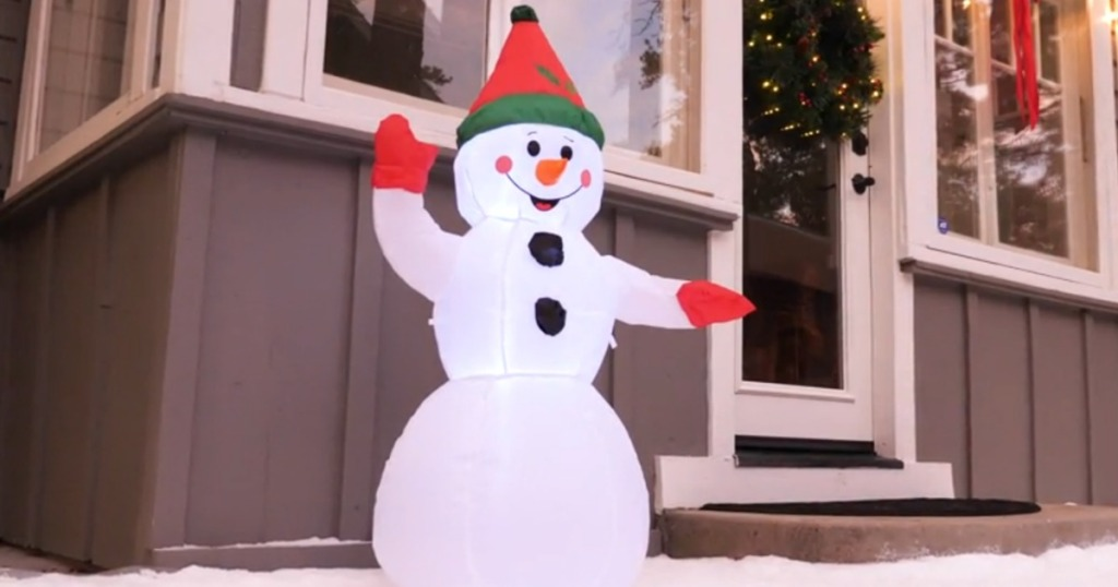 Inflatable Snowman from Best Choice Products
