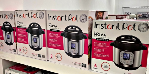 Instant Pot Duo Nova Pressure Cooker as Low as $50.95 Shipped at Target