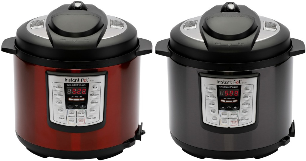 Instant Pot Lux60 in red and gray