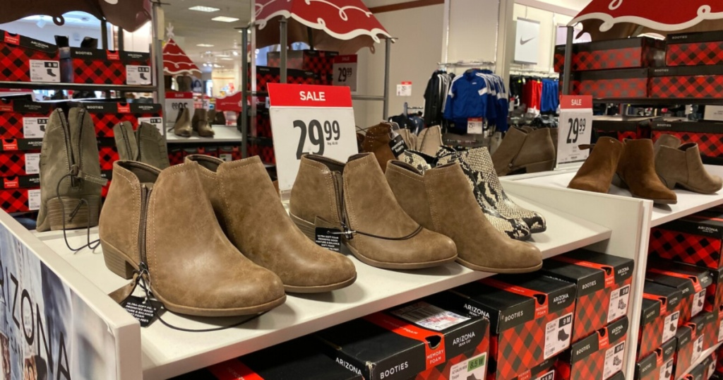 boots sale at jcpenney