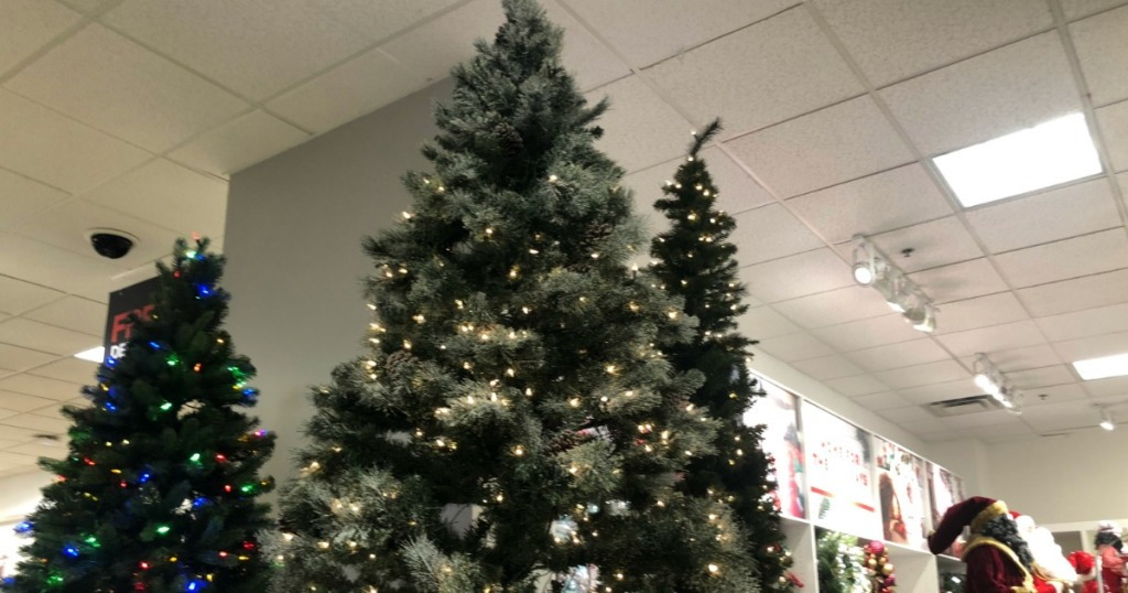 JCPenney Christmas Trees