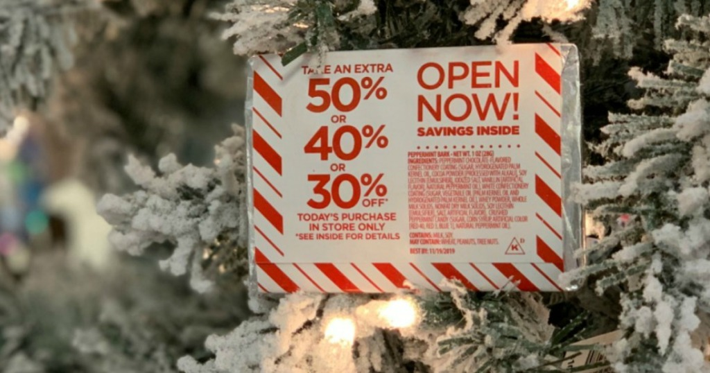 JCpenney Sweet Savings Mystery Coupon in Christmas Tree
