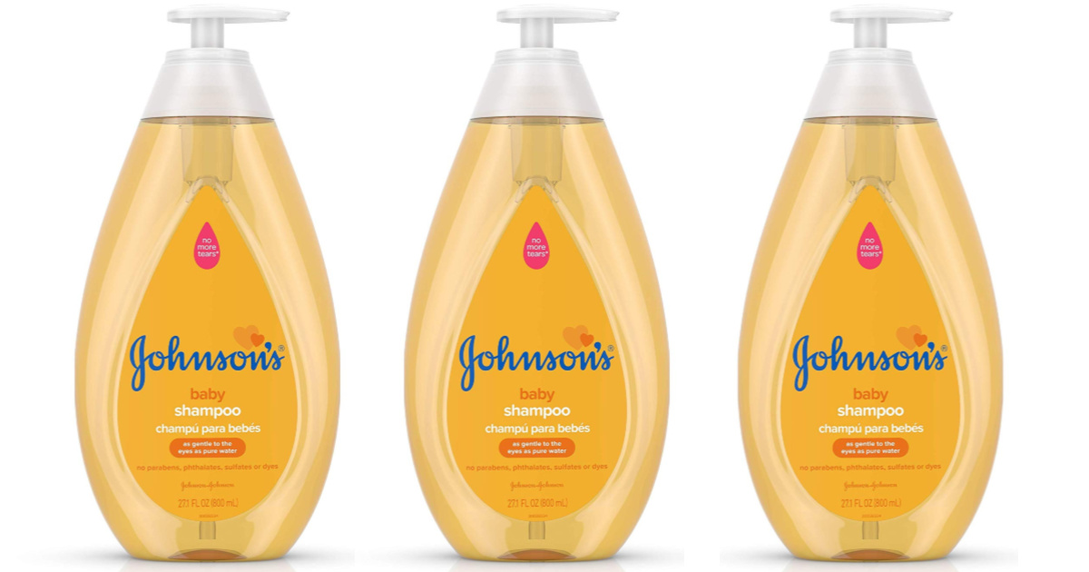 Johnson's Tear Free Baby Shampoo
