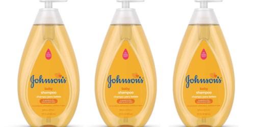 Johnson's Tear Free Baby Shampoo 21oz Bottle Just $4.74 Shipped at Amazon