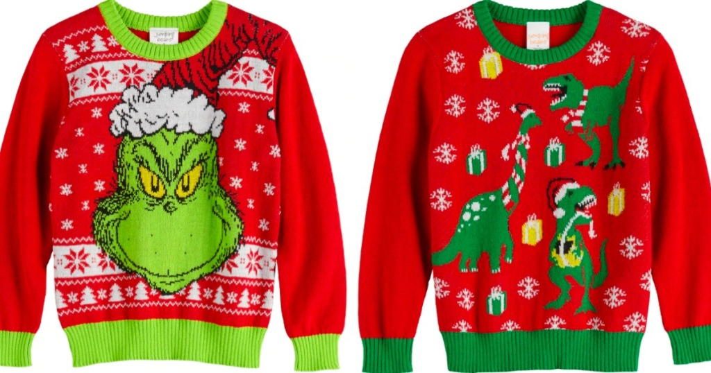 Jumping Beans Ugly Christmas Sweater