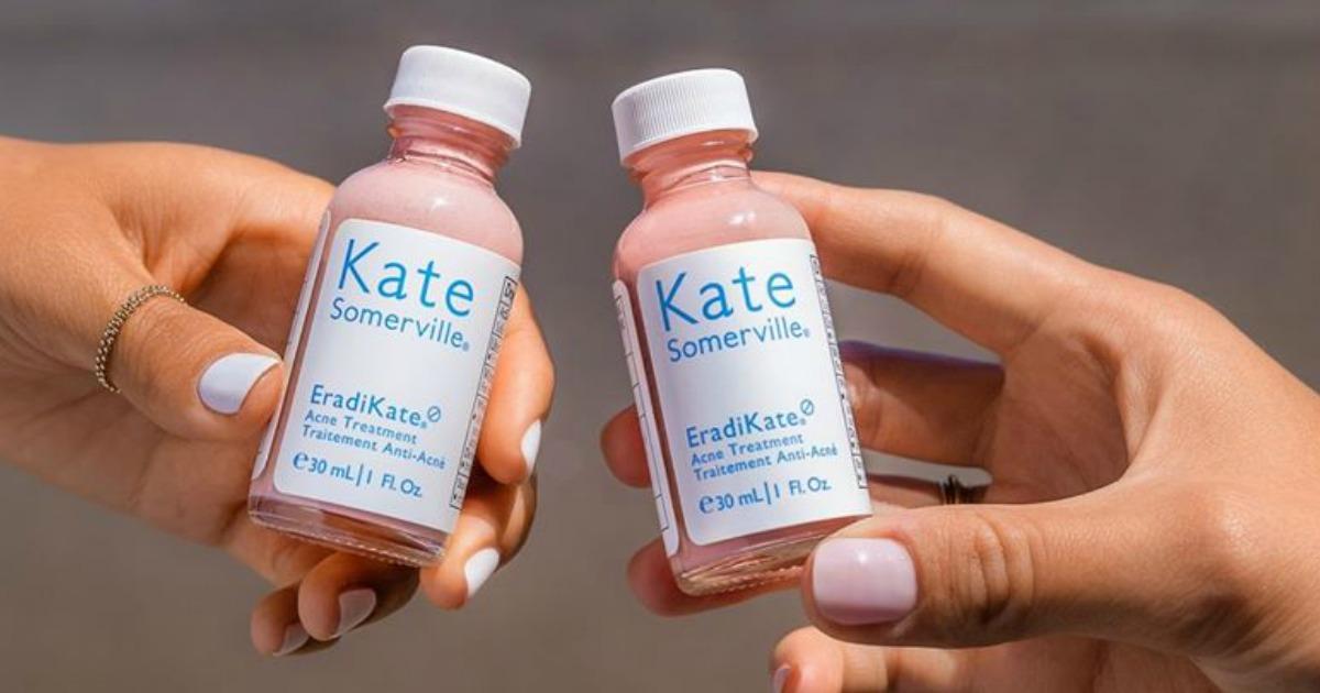 women holding Kate Somerville Eradikate